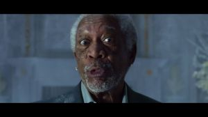 Kampagne: DORITOS BLAZE vs. MTN DEW ICE   Super Bowl Commercial with Peter Dinklage and Morgan Freeman