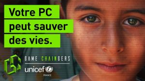 Kampagne: UNICEF France lance Game Chaingers