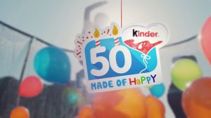 "Kampagne: Ferrero - 50 Jahre Kinder ""Made of Happy"" #3"