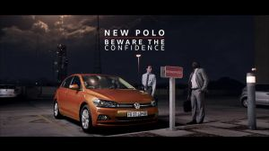 Kampagne: New Volkswagen Polo. Red Flashy Thingy.