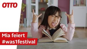 Kampagne: Mia feiert das OTTO Shopping Festival