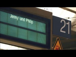 Kampagne: Happy End im Hauptbahnhof München - Deutsche Bahn