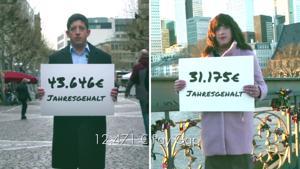 Kampagne: Das Gender Pay Gap Experiment  Terre des Femmes
