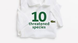 Kampagne: LACOSTE - SAVE OUR SPECIES