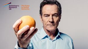 Kampagne: Alzheimer's Research UK's #ShareTheOrange with Bryan Cranston