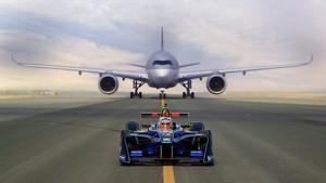 Kampagne: Qatar Airways goes Formel-E