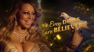 Kampagne: Even Divas are believers… Mariah Carey stays in a hostel