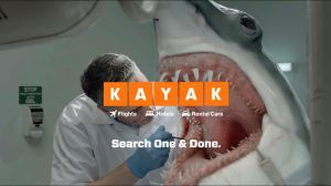 Kampagne: KAYAK Shark
