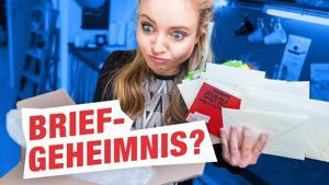 Kampagne: Ebay Kleinanzeigen - Hannah öffnet fremde Post