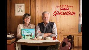 Kampagne: Vorverkauf für Grosseltern: Kinderbuch mit Gian und Giachen