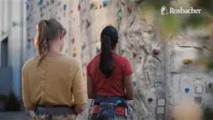 Kampagne: Rosbacher Spot 2018 - 20sek Klettern