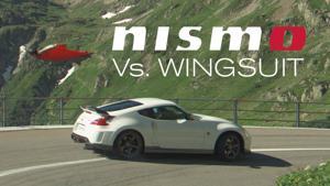 Kampagne: Nismo Vs. Wingsuit (Nissan)