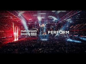 Kampagne: Matchroom Boxing & Perform Group verbünden sich