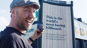 Kampagne: The World's Most Boring Billboard - Sioo:x