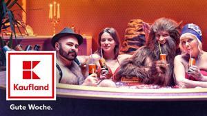 "Kampagne: Rotkäppchen & der Crazy Wolf – ""Pool And The Gang"" (Kaufland)"