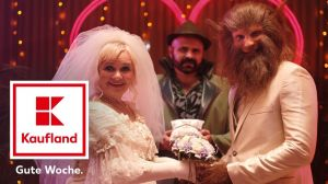 """Kampagne: Rotkäppchen & der Crazy Wolf – """"Crazy In Love"""" (Kaufland)"""