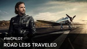 "Kampagne: Bradley Cooper in ""The road less traveled."" - IWC Watches"