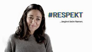 Kampagne: Respekt beginnt beim Namen – Aktion von DeutschPlus