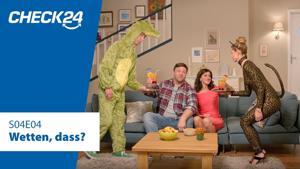 Kampagne: CHECK24 – Wetten, dass? Diese Kredit-Wette gewinnen Joe und Nina – 2 unvergleichliche Familien