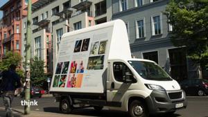Kampagne: Das Litomobil von Caesar+Cleo auf Tour