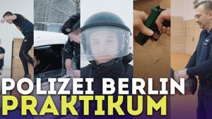 Kampagne: Ein Aaron für alle Fälle: Praktikum bei der Polizei Berlin