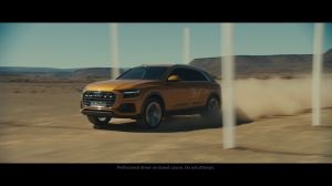 Kampagne: Audi Q8: Welcome to the 8th dimension.