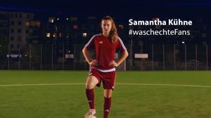 Kampagne: Persil: #waschechtefans Samantha